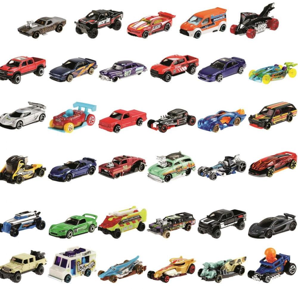 Mattel zestaw samochodów 36 szt # Wpisz kod MDL2PL84 i obniż cenę o dodatkowe 20% Kody ważne do 21.02.2021!