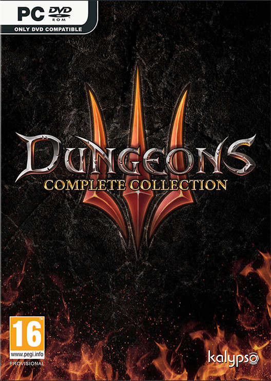 Dungeons III Complete Collection (GRA PC)