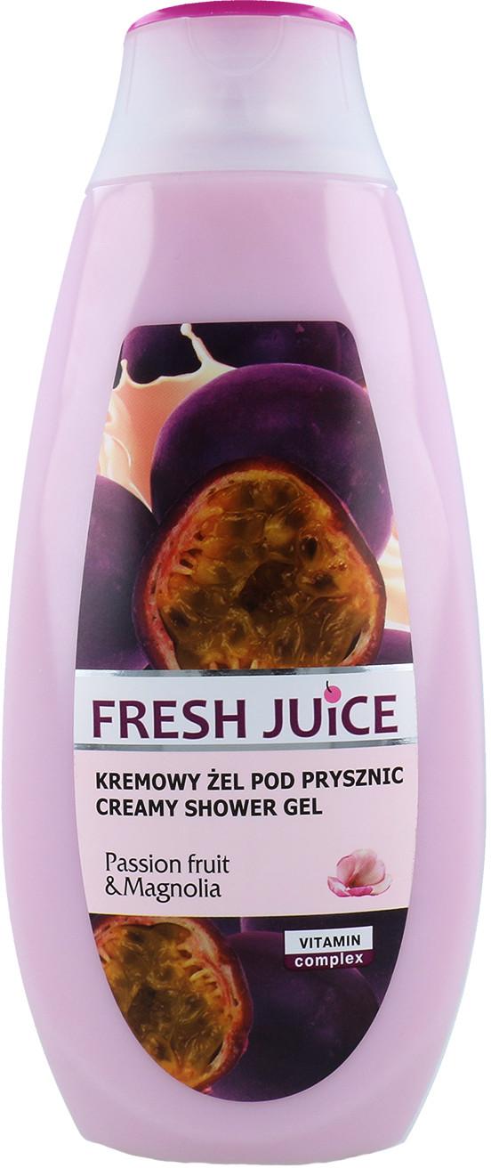 Fresh Juice Kremowy Żel Pod Prysznic O Zapachu Passion Fruit & Magnolia Marakui I Magnolii 400ml