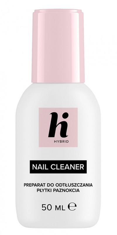 Hi Hybrid Hi Hybrid - NAIL CLEANER - Preparat do odtłuszczania płytki paznokcia - 50 ml HI CDP5ML