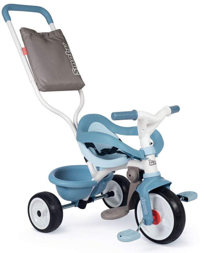 Smoby Trójkołowy rower Be Move Confort Szary/niebieski