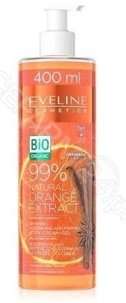 Eveline COSM rozgrzewający odżywczo-ujędrniający krem-żel do ciała z ekstraktem z pomarańczy 400 ml