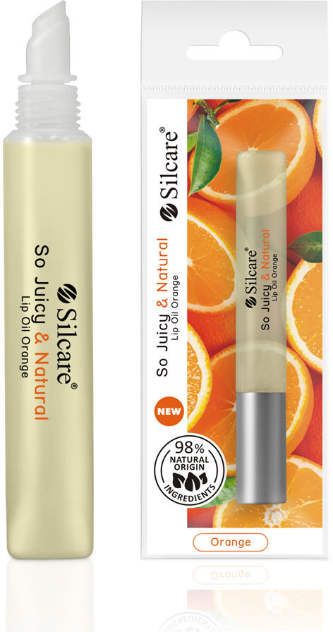 Silcare Olejek do ust QUIN So Juicy & Natural Pomarańczowy 10 ml