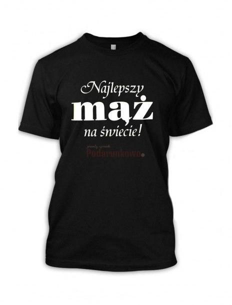 - Koszulka Najlepszy Mąż na Świecie