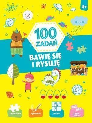 Olesiejuk Sp. z o.o. 100 zadań. Bawię się i rysuję - praca zbiorowa