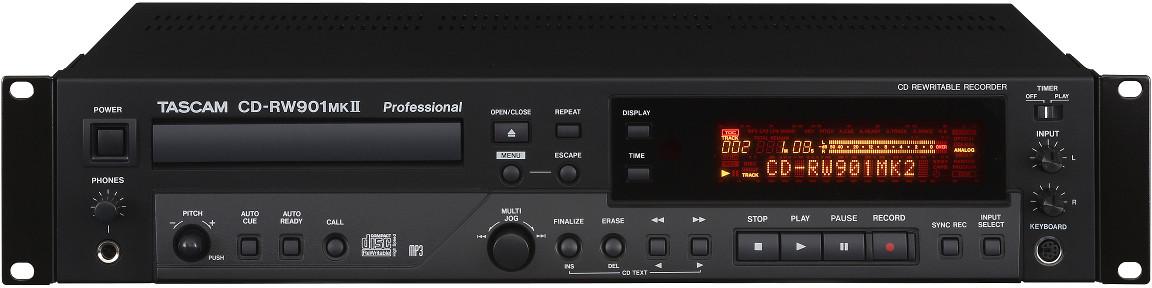Tascam CD-RW901MK2 Profesjonalna nagrywarka CD 37595