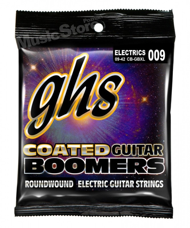 GHS Corporation Coated Boomers - CB-GBXL .009-.042