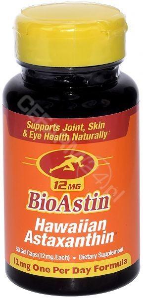 CyanoTech BioAstin Astaksantyna 12 mg (50 kapsułek) 1023-734E6