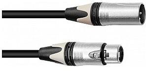 PSSO Kabel mikrofonowy XLR COL 3pin 15m bk Neutrik 30227853