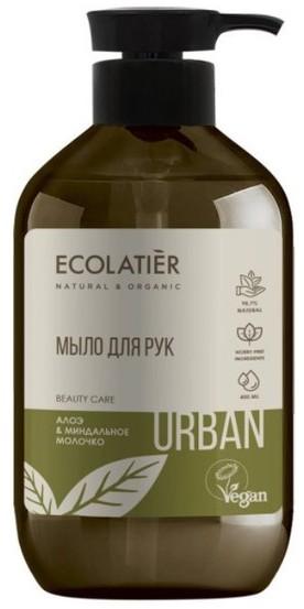 Eva Natura Ecolatier Ecolatier URBAN do rąk Aloes i mleko migdałowe 400ml