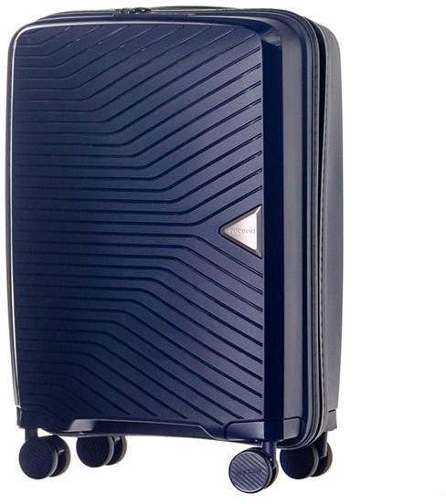 37af107d84a07 Puccini Mała kabinowa walizka DENVER PP014C 7A Granatowa - granatowy PP014C  7A