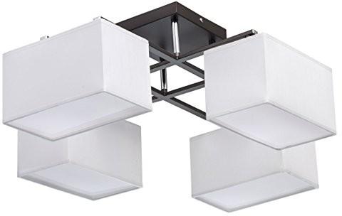 MW-Light Nowoczesna lampa sufitowa 8-żarówkowy chromfarbiges metalowy białe materiału bez pogorszenia jakości białe ciepłe światło akrylowe Salon sypialnia z wył. 8* 40W E142700K 101011308