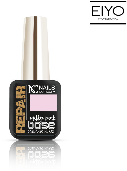 NAILS COMPANY NOWOŚĆ! Repair Base Milky Pink Nails Company - 6 ml