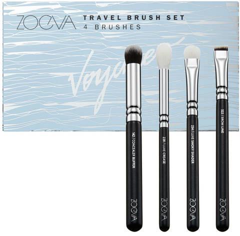 ZOEVA Voyager Travel Brush Set - Zestaw pędzli w formacie podróżnym