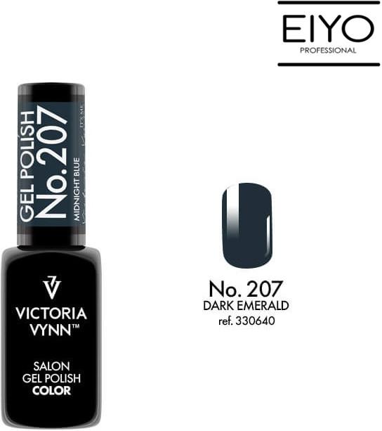 Victoria Vynn Lakier hybrydowy GEL POLISH COLOR Dark Emerald nr 207 8 ml NOWOŚĆ! 330640