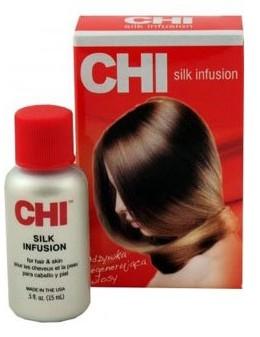 Kallos CHI Silk Infusion Naturalny Jedwab Odżywka Rekonstrukjaca 15 ml