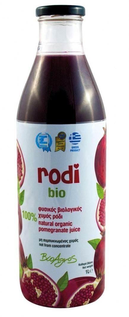 Bio AGROS (greckie produkty spoż SOK Z GRANATU 1 l - AGROS