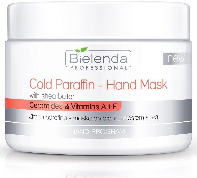 Bielenda PROFESSIONAL Zimna parafina - maska do dłoni z masłem shea 150g xml_122039