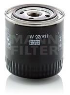 MANN Filtr oleju -FILTER W920/17 W 920/17