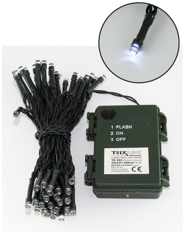Baterie Centrum LED Łańcuch świąteczny 5,4 m 50xLED/3xAA 6500 K