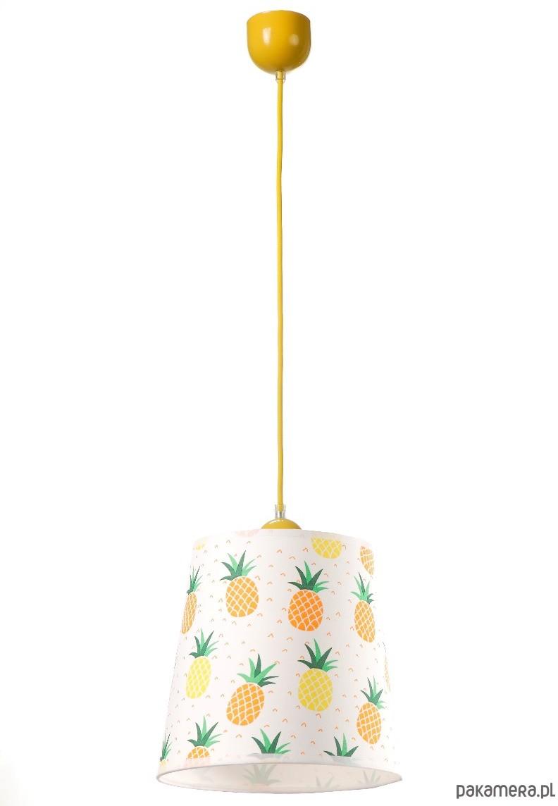 Lampa wisząca ANANAS 1pł żółta HIT 2019