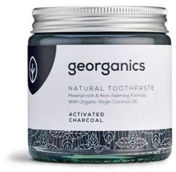 Georganics Mineralna Pasta do Zębów z Aktywnym Węglem, 60ml Georganics