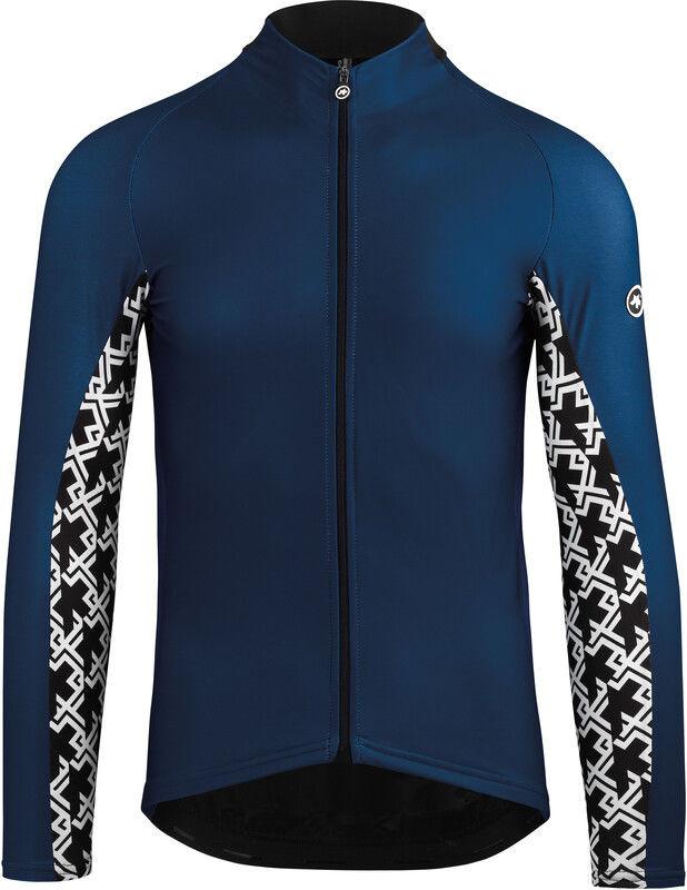 Assos Mille GT Kurtka na sezon przejściowy Mężczyźni, caleum blue XLG 2020 Koszulki z długim rękawem 11.24.273.25.XLG