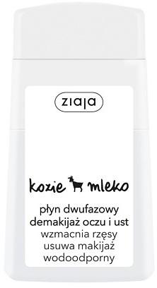 Ziaja Kozie mleko Płyn dwufazowy demakijaż oczu i ust 120ml