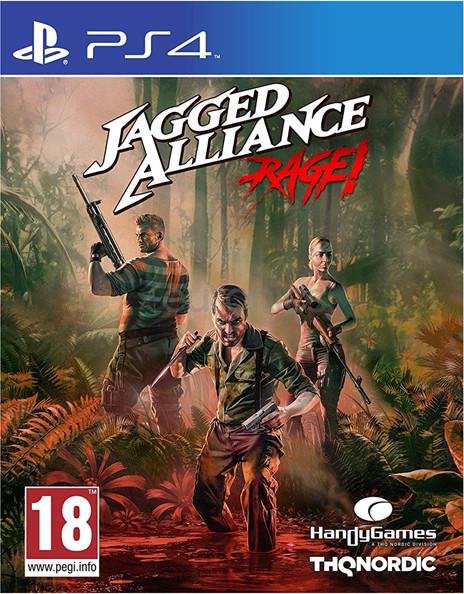 Jagged Alliance: Rage! (GRA PS4)