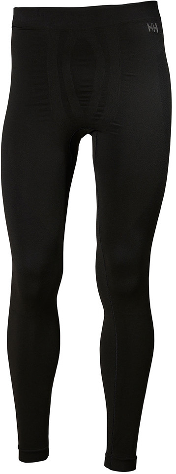 Helly Hansen Getry legginsy LIFA SEAMLESS PANTS MEN black