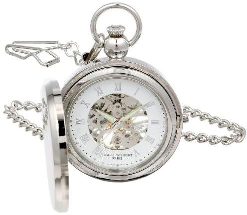 Charles Hubert, Paris Charles Hubert 3850ramka na zdjęcia mechaniczne Pocket Watch
