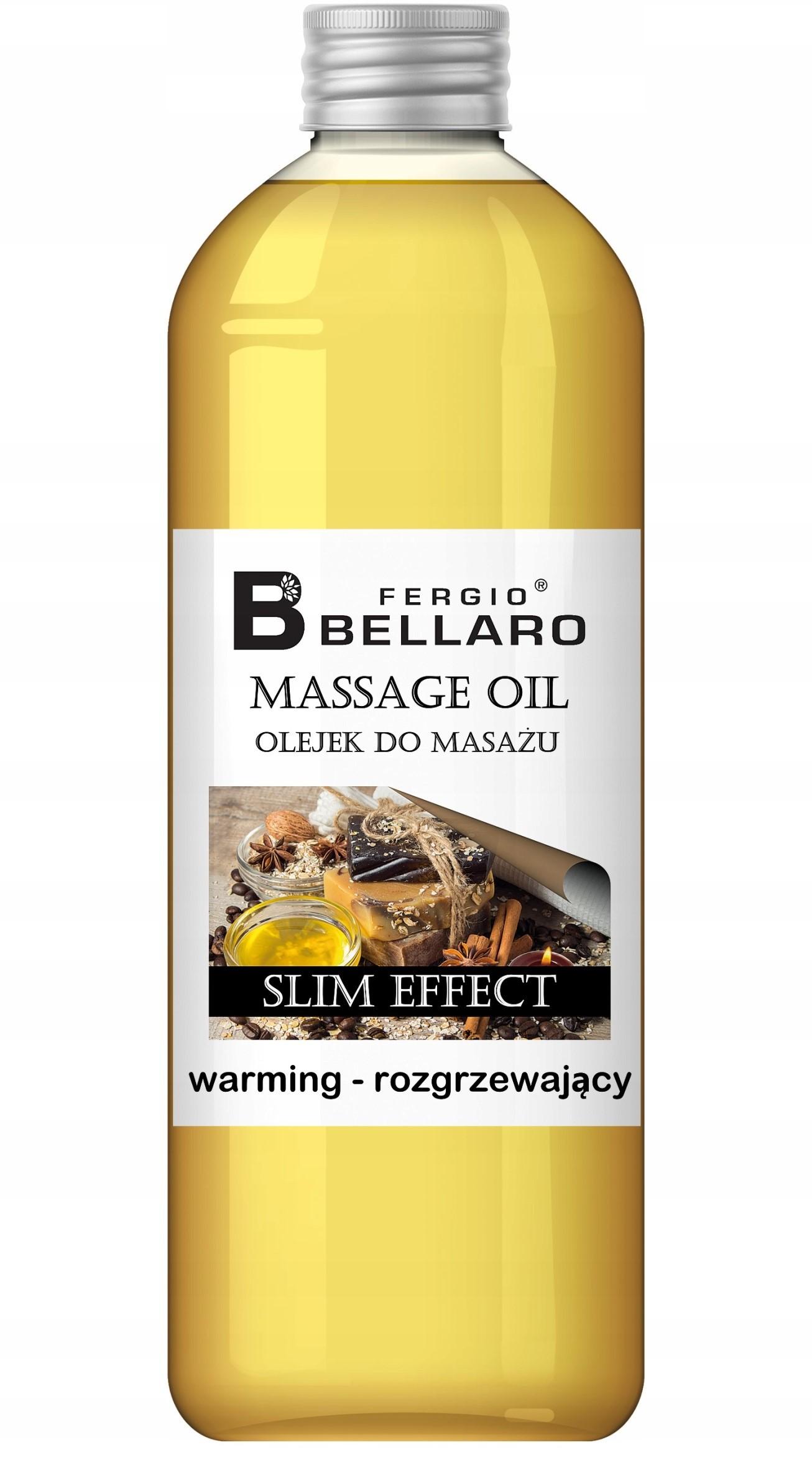 Olejek do masażu Slim effect - rozgrzewający 1L