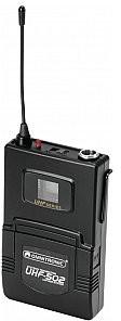 Omnitronic UHF-502 Nadajnik z mikrofonem lavalier 823-832MHz (CH B orange) 13053523