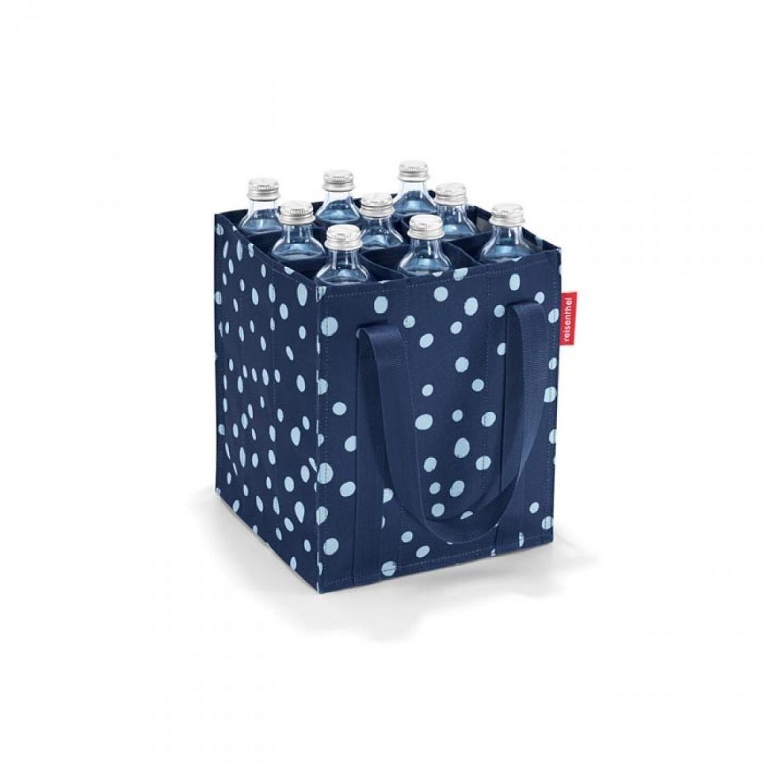 Reisenthel Torba na butelki REISENTHEL Spots, granatowa, 24x28x24 cm