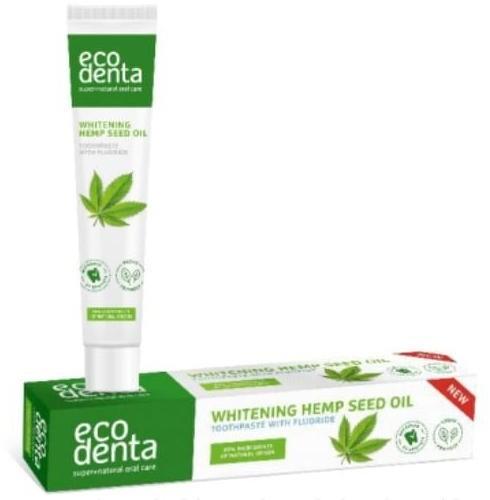 Ecodenta Agafia i produkty ze wschodu odświeżająca pasta do zębów z olejem konopnym 75 ml SKR100106
