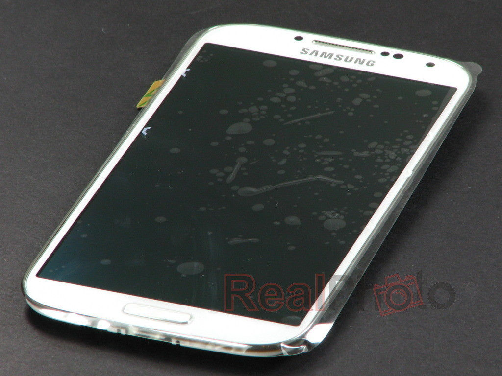 Samsung Oryginalny Dotyk Wyświetlacz Galaxy S4 i9500 Biały A / V / 4