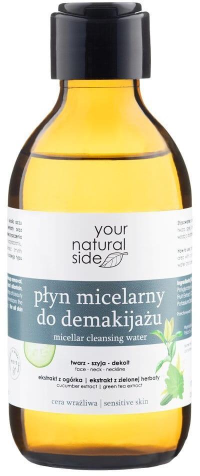 YOUR NATURAL SIDE Płyn micelarny do demakijażu ogórek & zielona herbata 190 ml Your Natural Side