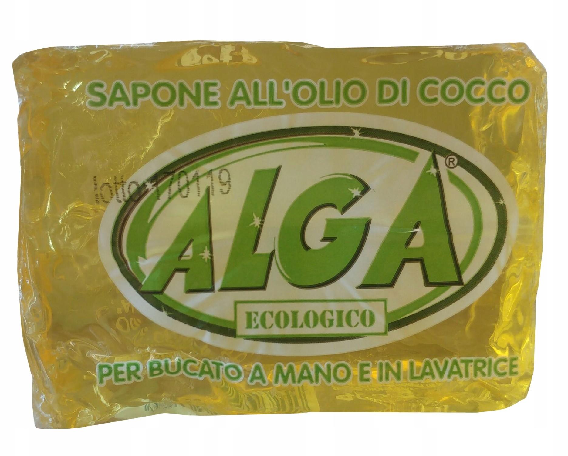Bio Alga Mydło do prania i mycia Naturalne 400g