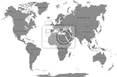 yan4ik Fototapeta mapa, świat, wektor, ziemia, biznes