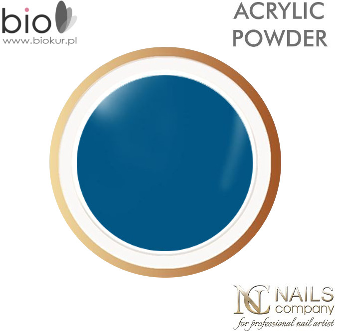 Nails Company Puder akrylowy Turquoise 7 g Puder Turquoise