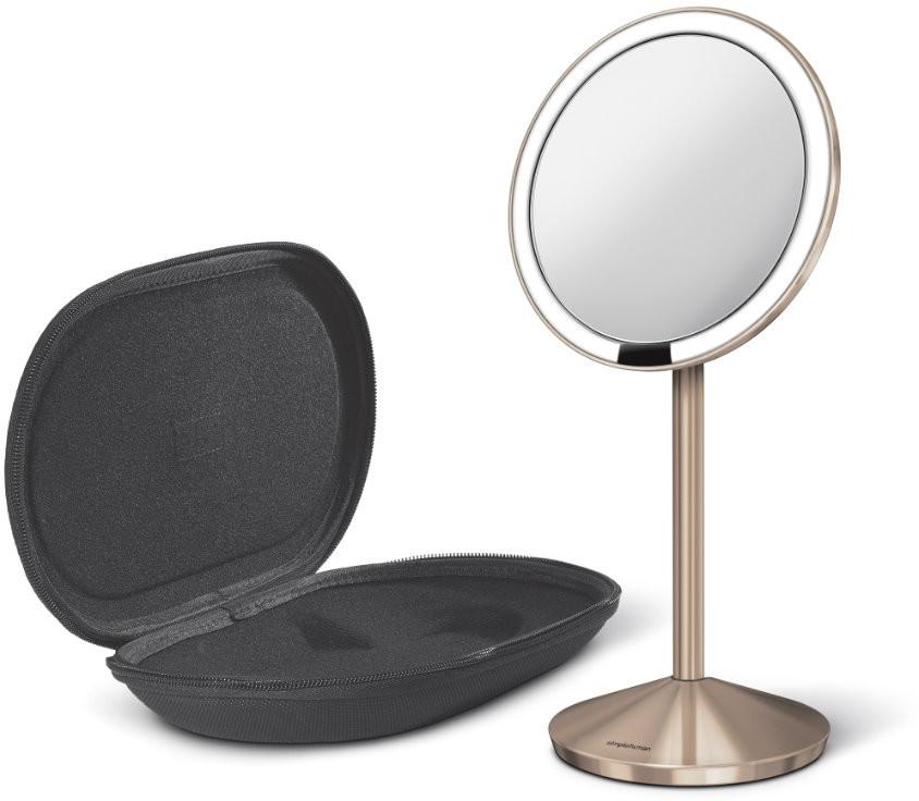 SimpleHuman sensoryczne lustro ścienne z oświetleniem Tru lux 10 krotne powiększenie