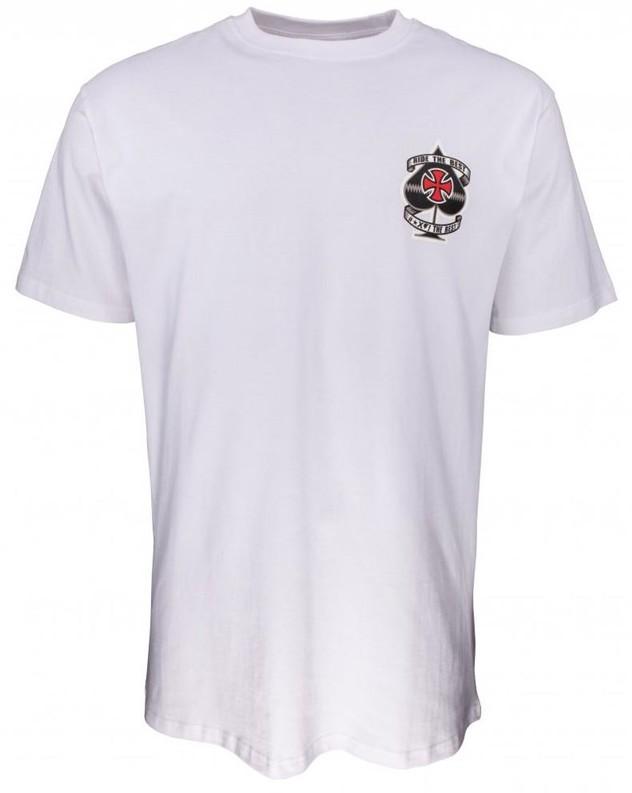 Independent koszulka Ante Tee White WHITE) rozmiar L
