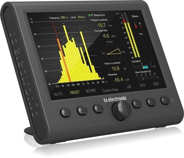 TC electronic Clarity M Stereo Stereofoniczny miernik audio