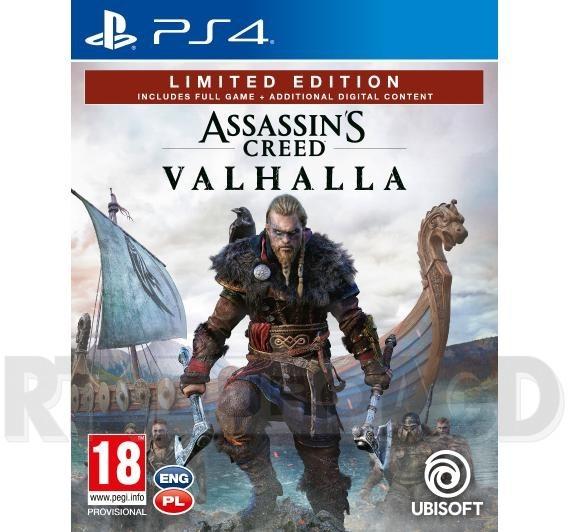 Assassins Creed Valhalla Edycja Limitowana (GRA PS4)