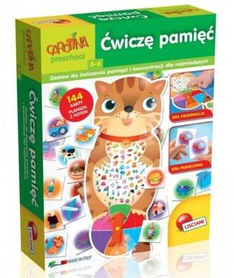 Lisciani Giochi Carotina Ćwiczę pamięć 304-PL57511