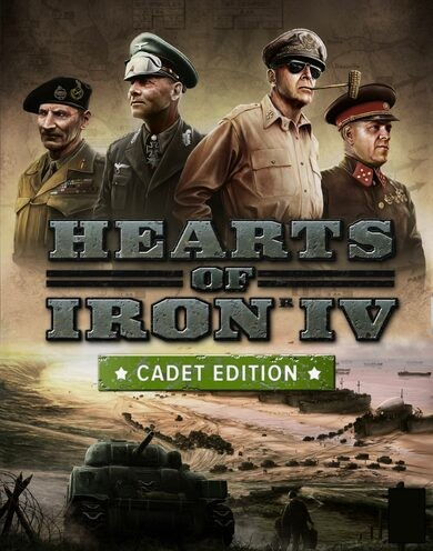 Paradox Interactive Hearts of Iron IV: Cadet Edition Steam Key EUROPE