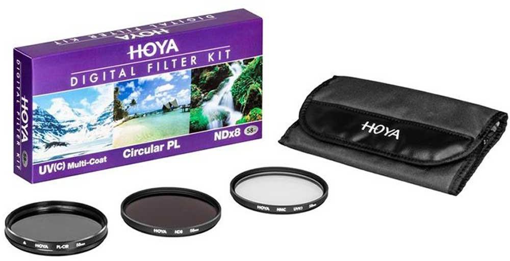 Hoya zestaw filtrów DIGITAL FILTER KIT 46mm 3242