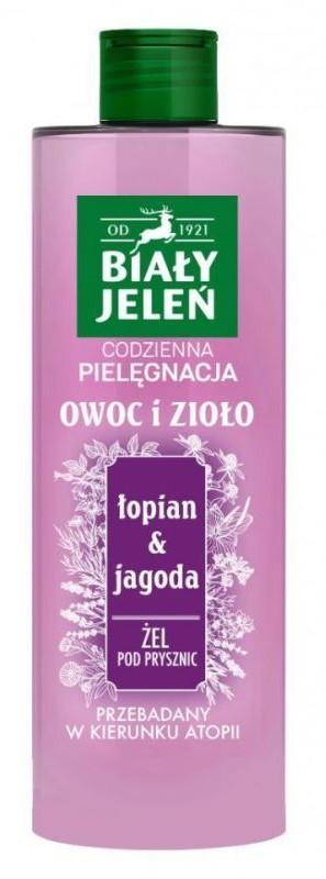 Pollena Owoc i Zioło Żel pod prysznic Łopian i jagoda 400ml