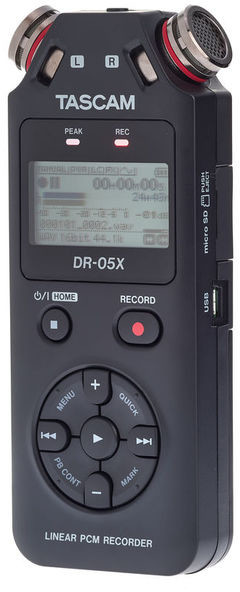 Shure Tascam DR-05X - Portable audio recorder and USB interface