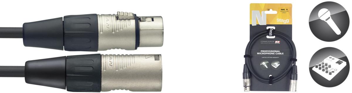 STAGG NMC20R - kabel mikrofonowy 20m